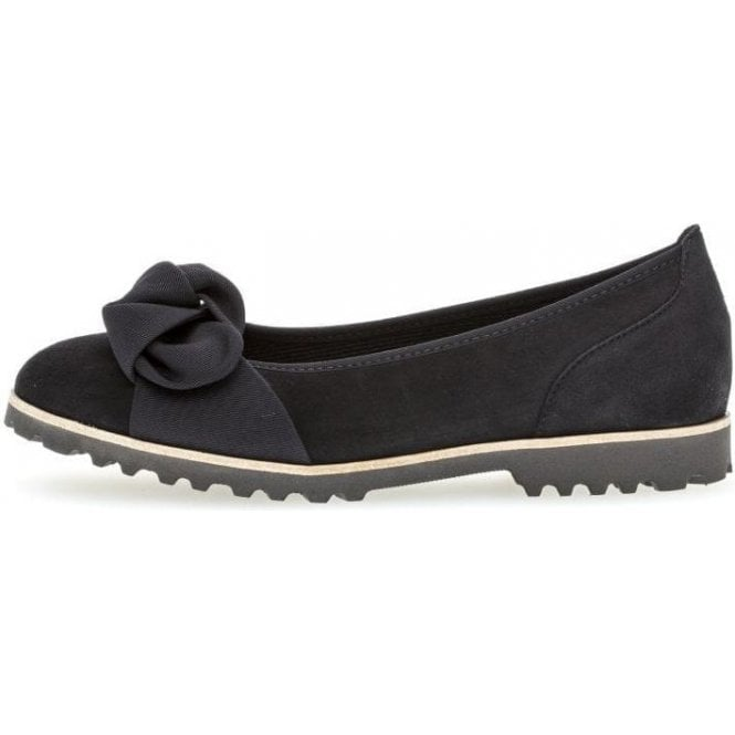 Gabor Philosophy Flat Leather Pumps