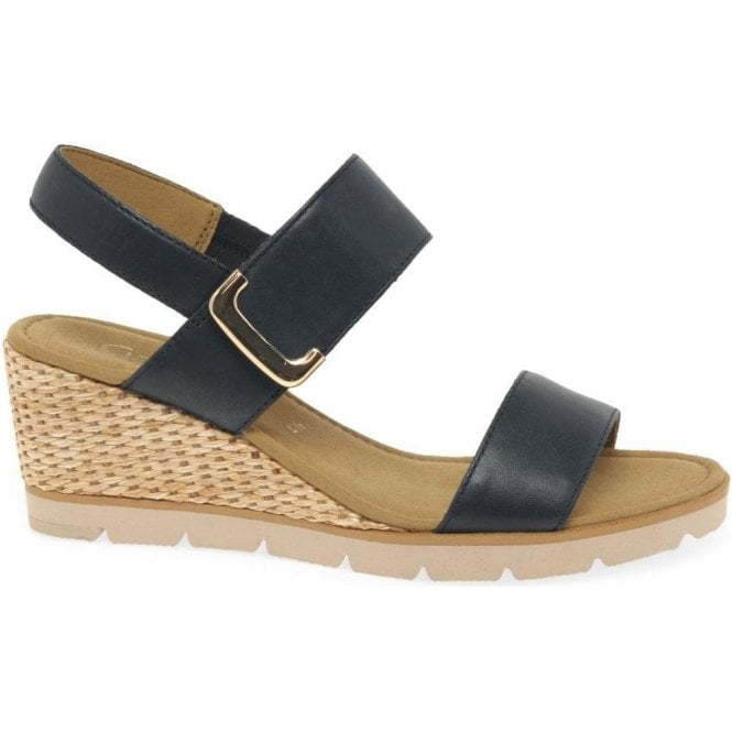 Gabor Porter Ladies Wedge Heel Sandals