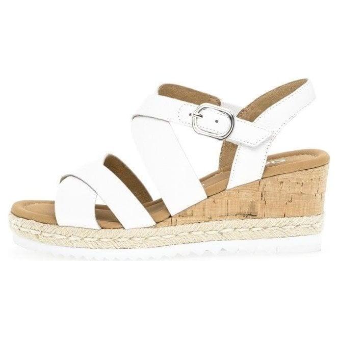 Gabor Talbot Ladies Wedge Heel Espadrille Sandals