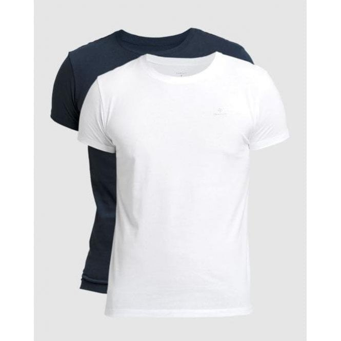 GANT 2-Pack Crew Neck T-Shirts