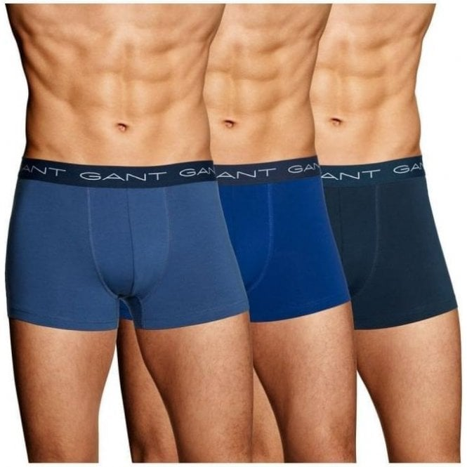 GANT 3-Pack Cotton Stretch Trunks