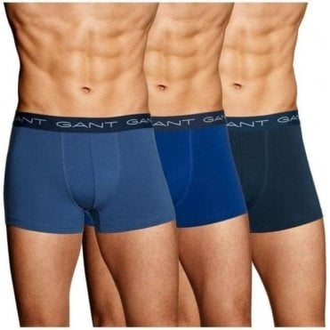 3-Pack Cotton Stretch Trunks
