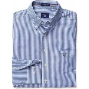 Banker Striped Fitted Shirt