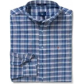 Blue Pack Madras Shirt