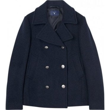 Bonded Wool Pea Coat