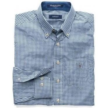 Brightwater Poplin Gingham Shirt