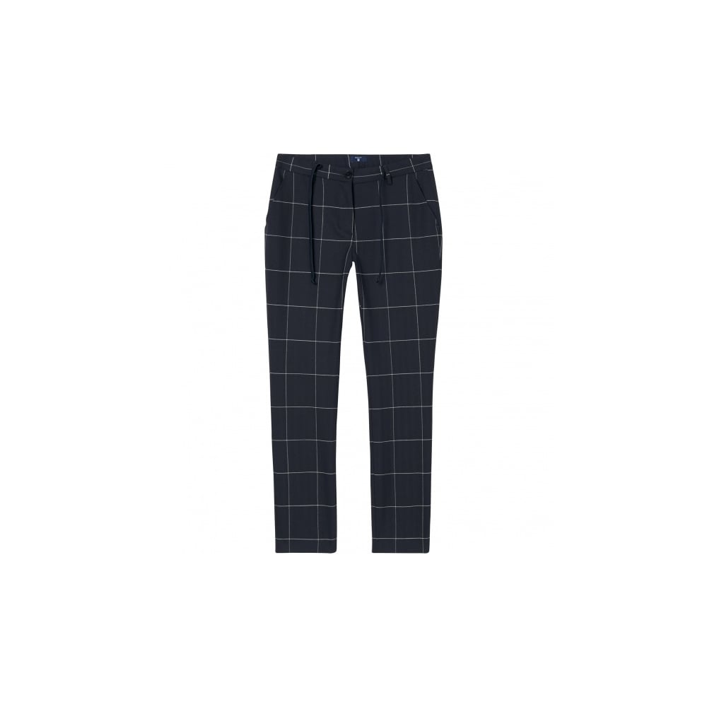 f3be6f418c GANT Check Stretch Pants - Womens Trousers & Jeans: O&C Butcher