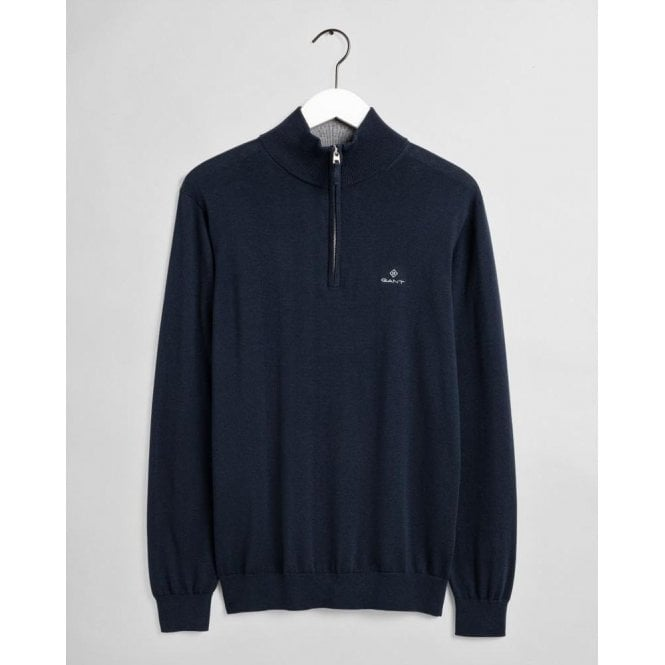 GANT Classic Cotton Half-Zip Jumper
