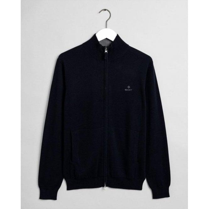 GANT Classic Cotton Zip Cardigan
