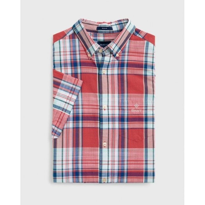 GANT Classic Short-Sleeved Madras Shirt