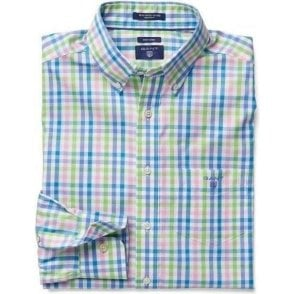 Color Checked Oxford Shirt