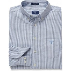 Comfort Oxford Banker Striped Shirt