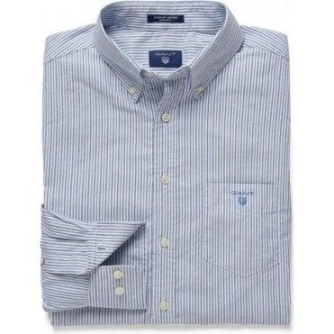 Comfort Oxford Banker Striped Shirt