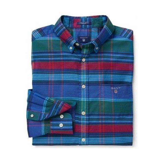 GANT Comfort Oxford Big Plaid Shirt