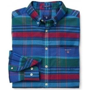 Comfort Oxford Big Plaid Shirt