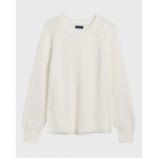 GANT Comfy Ribbed Crew Sweater
