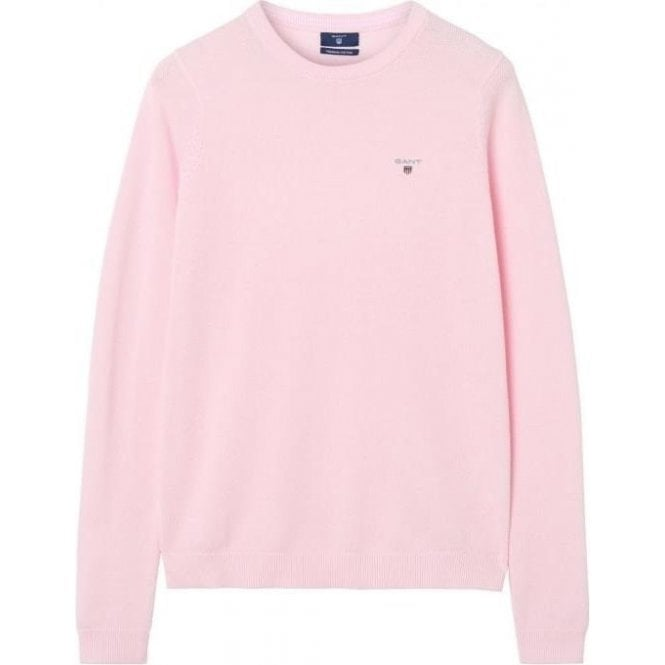 GANT Cotton Piqué Crew Sweater