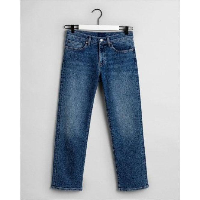 GANT Cropped Boyfriend Jeans