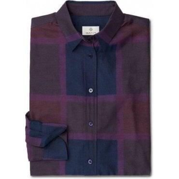 Diamond G Slanted Shoulder Check Shirt