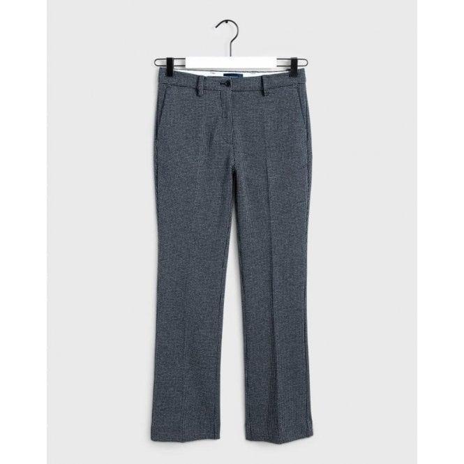 GANT Dogtooth Jersey Pants