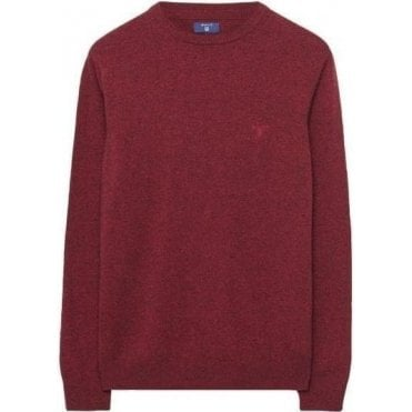 Donegal Tweed Crewneck Jumper