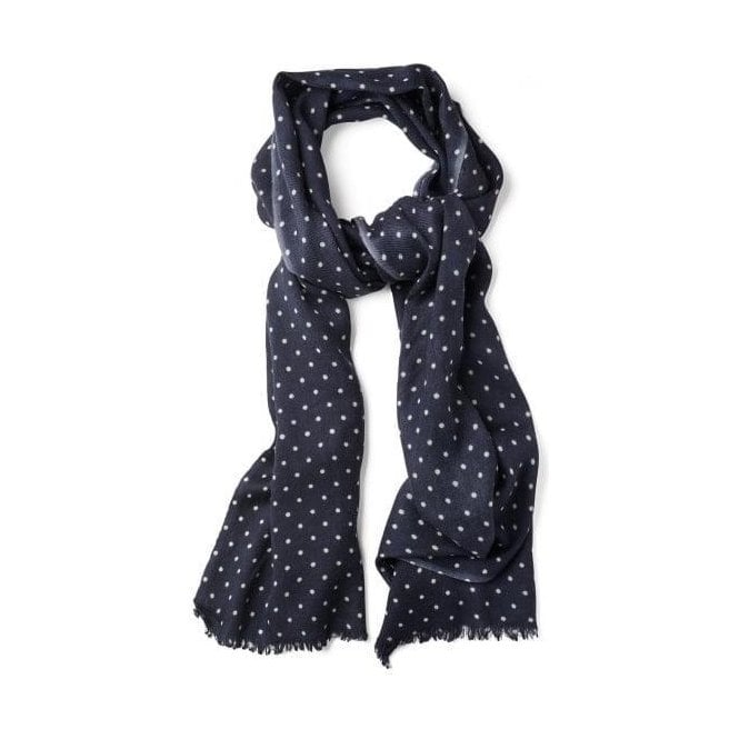 GANT Dotted Wool Scarf