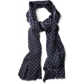 Dotted Wool Scarf