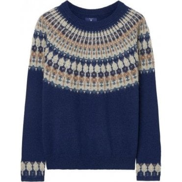 Fairisle Crew Sweater