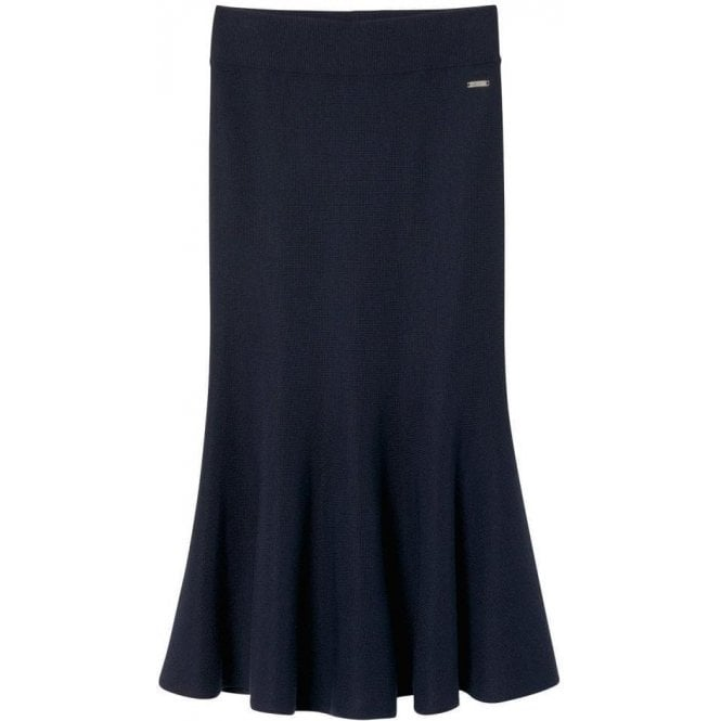 GANT Flared Merino-Blend Skirt