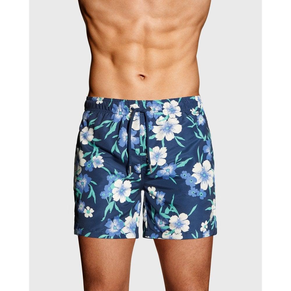 05f115b1aa GANT Floral Swim Shorts - Mens Swimming Trunks: O&C Butcher