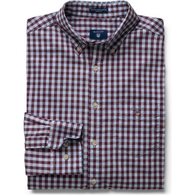 GANT Heather Oxford Gingham Shirt