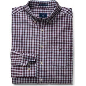 Heather Oxford Gingham Shirt