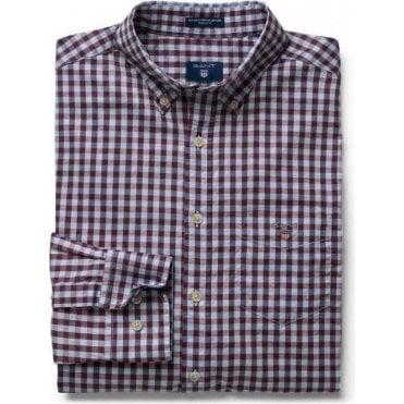 Heather Oxford Gingham Shirt