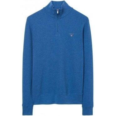 Honeycomb Half Zip Sweatshirt