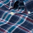 GANT Indigo Broadcloth Check Shirt