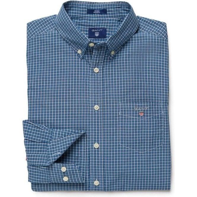 GANT Indigo Gingham Shirt