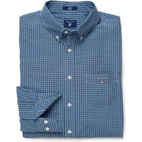 Indigo Gingham Shirt