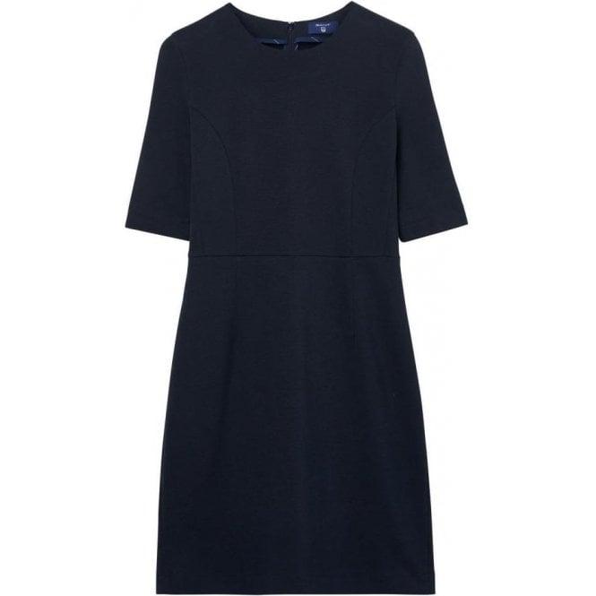 GANT Jersey Piqué Stretch Dress