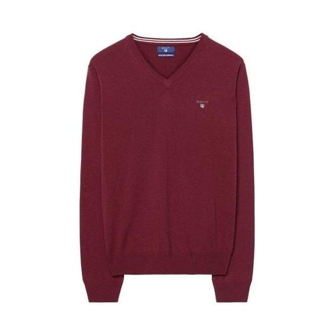 GANT Lambswool V-Neck Sweater