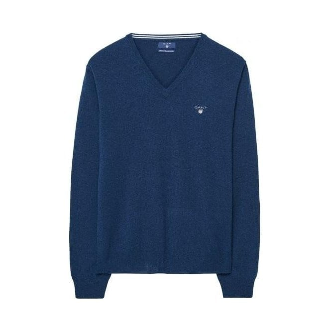 GANT Lambswool V-Neck Sweater