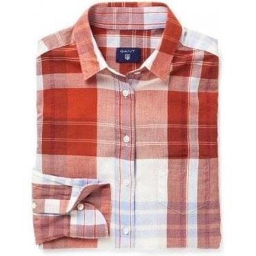 Large Madras Checked Shirt