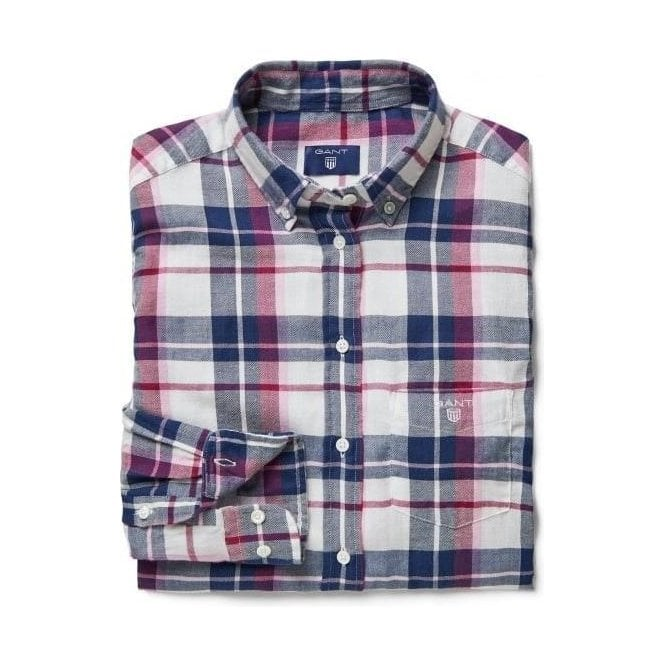 GANT Lightweight Flannel Checked Shirt