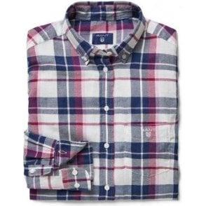 Lightweight Flannel Checked Shirt