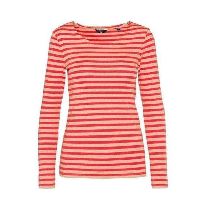Gant Butcher Shirts Sleeve amp;c Womens T Tops Long Shirt amp; Rib O FP8rFqw