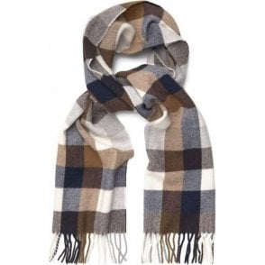 Multicheck Lambswool Scarf