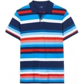 Multistripe Polo Shirt