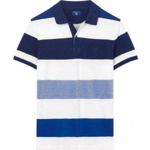 Oxford Multistripe Polo Shirt