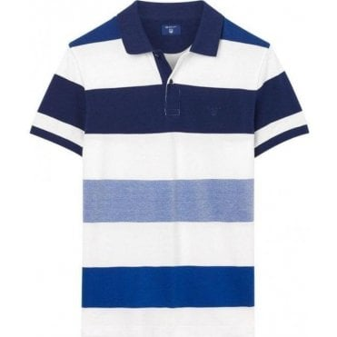 Oxford Multistripe Polo Shirt