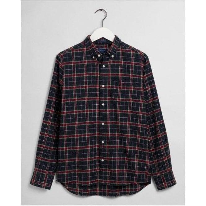 GANT Regular Fit Check Flannel Shirt