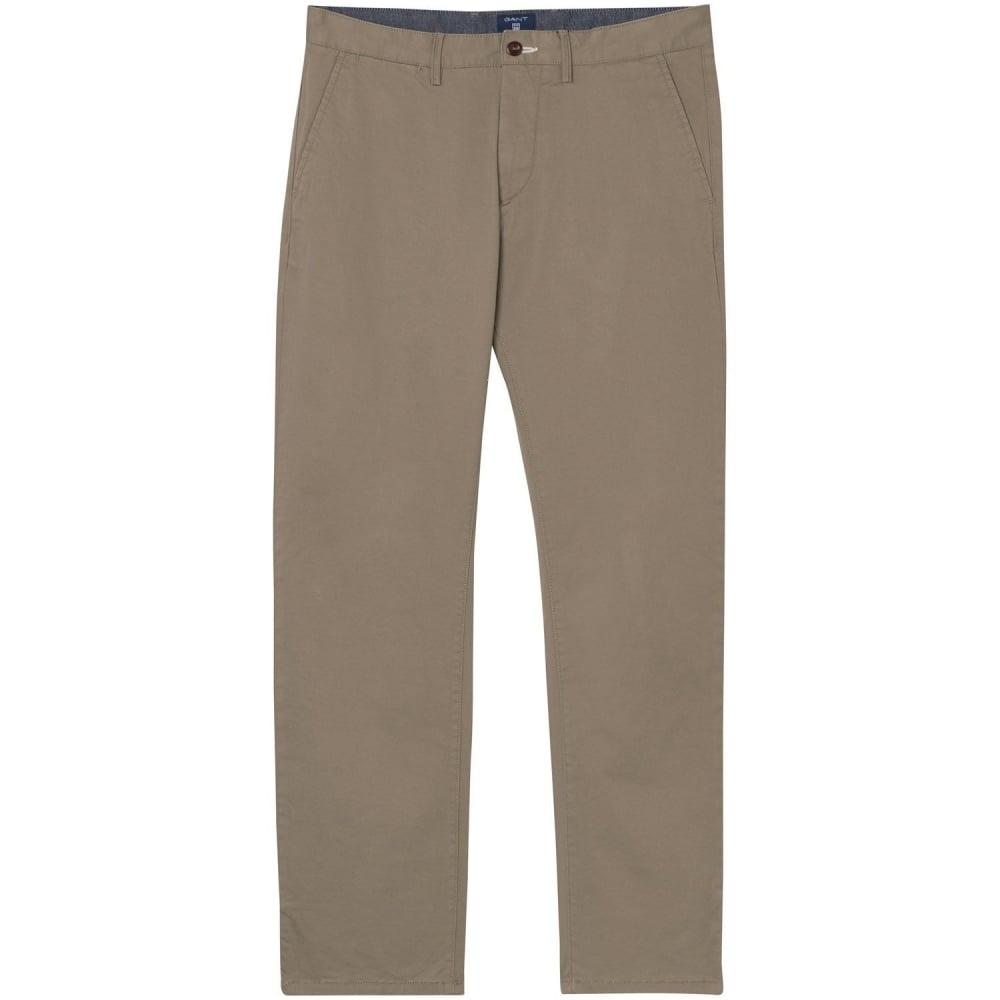 bästsäljande grossistförsäljning Förenta staterna GANT Regular Fit Twill Chino - Mens Trousers & Jeans: O&C Butcher